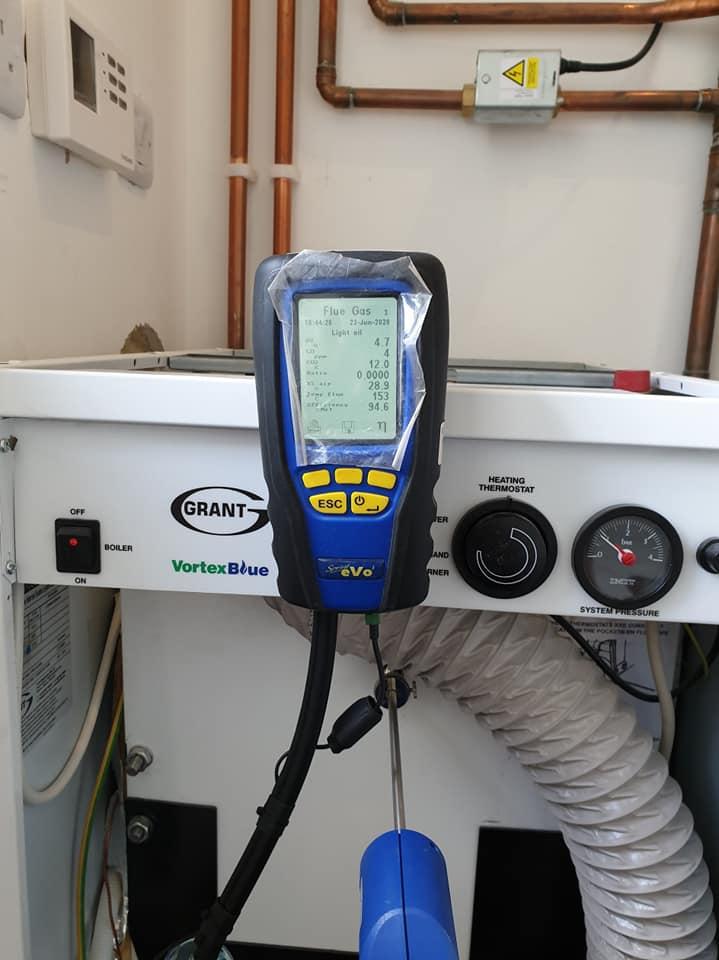 Boiler installation Steven Maude plumbing